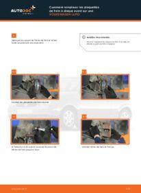Comment effectuer un remplacement de Plaquettes de Frein sur 1.2 TDI 3L VW Lupo 6x1