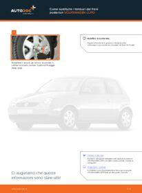 Come effettuare una sostituzione di Freno a Tamburo su 1.2 TDI 3L VW Lupo 6x1