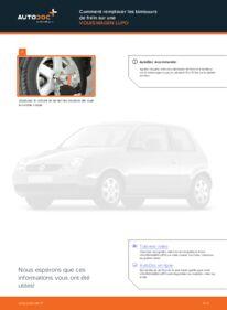 Comment effectuer un remplacement de Tambours De Frein sur 1.2 TDI 3L VW Lupo 6x1