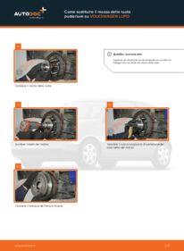 Come effettuare una sostituzione di Mozzo Ruota su 1.2 TDI 3L VW Lupo 6x1