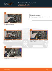 Comment effectuer un remplacement de Moyeu De Roue sur 1.2 TDI 3L VW Lupo 6x1
