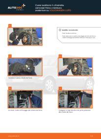 Come effettuare una sostituzione di Pompa Freno su 1.2 TDI 3L VW Lupo 6x1