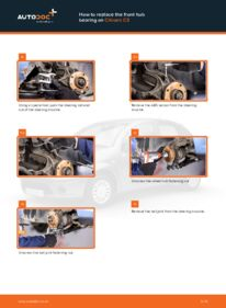 How to carry out replacement: Wheel Bearing on 1.4 HDi Citroen C3 Mk1
