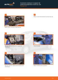 Comment effectuer un remplacement de Coupelle d'Amortisseur sur 1.4 HDi Citroën C3 Phase 1