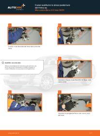 Come effettuare una sostituzione di Pinza Freno su E 220 CDI 2.2 (211.006) Mercedes W211
