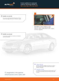 Come effettuare una sostituzione di Tergicristalli su E 220 CDI 2.2 (211.006) Mercedes W211