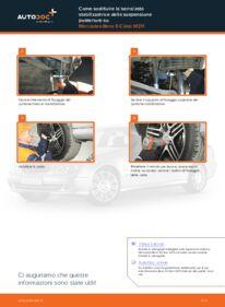 Come effettuare una sostituzione di Biellette Barra Stabilizzatrice su E 220 CDI 2.2 (211.006) Mercedes W211