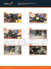 How to carry out replacement: Oil Filter on 1.7 CDTI (L48) Opel Astra h l48