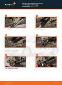 Hvordan man udfører udskiftning af: Bærearm på 1.7 CDTI (L48) Opel Astra h l48