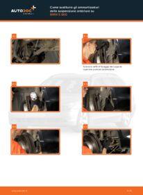 Come effettuare una sostituzione di Ammortizzatori su 530d 3.0 BMW E60