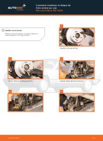Comment effectuer un remplacement de Disques De Frein sur E 2.0 (201.024) Mercedes W201