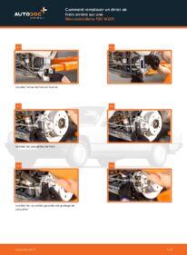 Comment effectuer un remplacement de Étrier De Frein sur E 2.0 (201.024) Mercedes W201