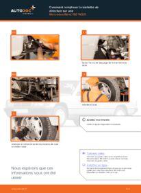 Comment effectuer un remplacement de Rotule De Direction sur E 2.0 (201.024) Mercedes W201