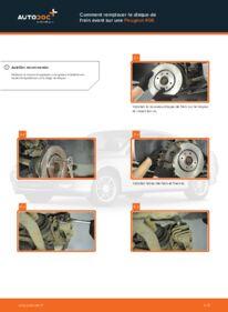 Comment effectuer un remplacement de Disques De Frein sur 2.0 HDI 110 Peugeot 406 Break
