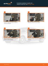 Comment effectuer un remplacement de Roulement De Roues sur 2.0 HDI 110 Peugeot 406 Break