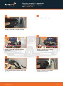 Comment effectuer un remplacement de Coupelle d'Amortisseur sur 2.0 HDI 110 Peugeot 406 Break