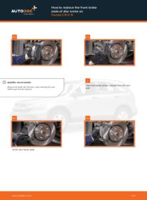 How to carry out replacement: Brake Pads on 2.2 i-CTDi 4WD (RE6) Honda CR-V III