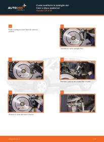 Come effettuare una sostituzione di Pastiglie Freno su 2.2 i-CTDi 4WD (RE6) Honda CR-V III