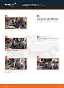 Comment effectuer un remplacement de Rotule De Direction sur 2.2 i-CTDi 4WD (RE6) Honda CR-V III