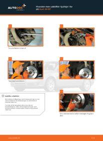 Hvordan man udfører udskiftning af: Hjulleje på 2.0 TDI Audi A4 b7