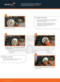 Comment effectuer un remplacement de Disques De Frein sur 2.0 TDI Audi A4 b7