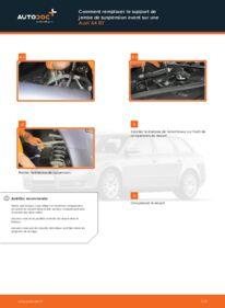 Comment effectuer un remplacement de Coupelle d'Amortisseur sur 2.0 TDI Audi A4 b7