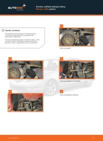 Kuinka vaihtaa Jarrulevyt 1.6 Mazda 3 bk -autoon