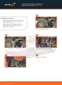 Comment effectuer un remplacement de Disques De Frein sur 1.6 Mazda 3 bk