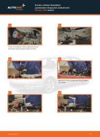 Kuinka vaihtaa Alatukivarsi 1.6 Mazda 3 bk -autoon