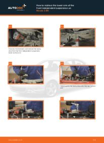 How to carry out replacement: Control Arm on MAZDA 3