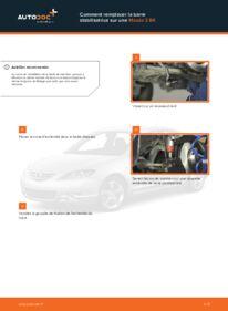Comment effectuer un remplacement de Rotule De Direction sur 1.6 Mazda 3 bk