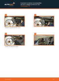 Comment effectuer un remplacement de Plaquettes de Frein sur 2.5 TDI VW T5 Сamion à Plateau