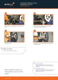 Comment effectuer un remplacement de Rotule De Direction sur 2.5 TDI VW T5 Сamion à Plateau