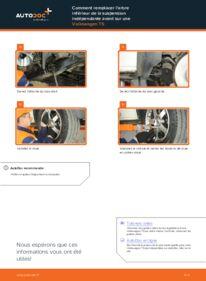 Comment effectuer un remplacement de Bras de Suspension sur 2.5 TDI VW T5 Сamion à Plateau