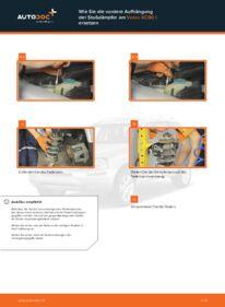 Wie der Ersatz vollführt wird: Stoßdämpfer am 2.4 D5 Volvo XC90 1