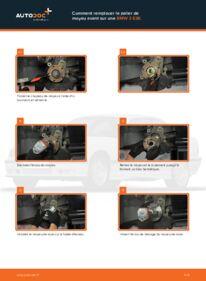 Comment effectuer un remplacement de Roulement De Roues sur 316i 1.6 BMW E36 Compact