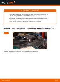 Kako izvesti menjavo: Zavorne Ploščice na 1.9 TDI Passat 3B6