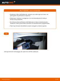 Come effettuare una sostituzione di Filtro Antipolline su 1.2 60 Fiat Punto 188