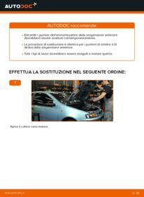 Come effettuare una sostituzione di Ammortizzatori su 1.2 60 Fiat Punto 188