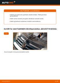 Kuinka vaihtaa Jarrupalat 1.4 16V Golf 4 -autoon