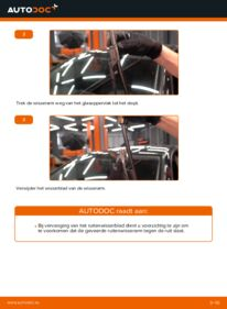 Vervanging uitvoeren: Ruitenwissers 1.9 TDI Golf 5