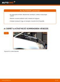 Hogyan végezze a cserét: 1.4 16V Polo 9n Olajszűrő