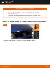 Comment effectuer un remplacement de Étrier De Frein sur 2.5 TDI VW TRANSPORTER IV Bus (70XB, 70XC, 7DB, 7DW)
