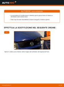 Come effettuare una sostituzione di Pinza Freno su 2.5 TDI VW TRANSPORTER IV Bus (70XB, 70XC, 7DB, 7DW)