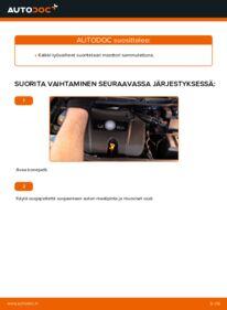 Kuinka vaihtaa Moniurahihna 1.4 16V Golf 4 -autoon