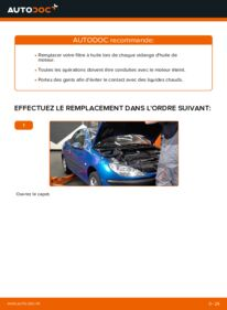 Comment effectuer un remplacement de Filtre à Huile sur 1.6 16V Peugeot 206 cc 2d