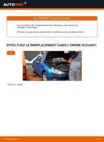Comment effectuer un remplacement de Bougies d'Allumage sur 1.6 16V Peugeot 206 cc 2d