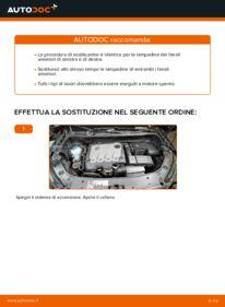 Come effettuare una sostituzione di Lampadina Faro Principale su 1.6 TDI Touran 1t3