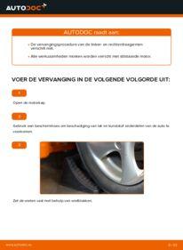 Vervanging uitvoeren: Draagarm 1.6 16V Peugeot 206 cc 2d