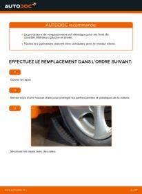 Comment effectuer un remplacement de Bras de Suspension sur 1.6 16V Peugeot 206 cc 2d